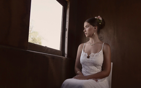 bride, sorrow, muse, window