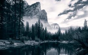 Yosemite Valley, river