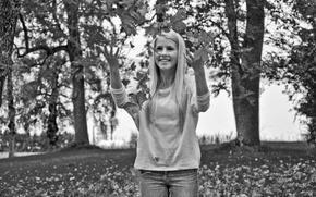 Aurora Mohn Stuedahl, beleza branco, loiro