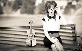 красавица, скрипка, Линдси Стирлинг