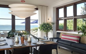 interior, villa, dining room, style, design, home, room
