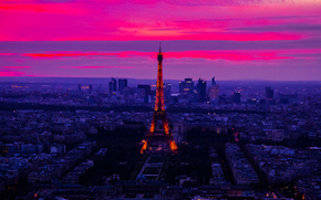 Эйфелева Башня, Парк, Париж, Paris, Eiffel Tower