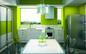 kitchen, design, style, interior, room