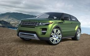 Land Rover, Range Rover, Ewok, GREEN, Land Rover, Car, machine