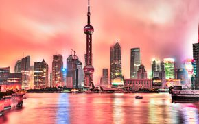 Shanghai, China, city