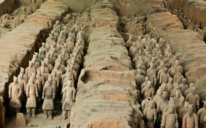 China, Terracotta Army, archeology