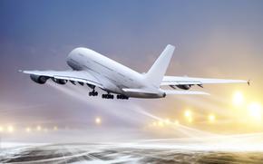 plane, transportation, air, flight