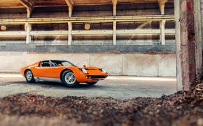 опилки, завод, стружка, Lamborghini, оранжевая