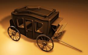 road, stagecoach, journey, coach, Wheel