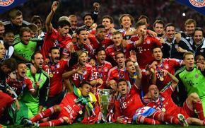 UEFA, Bayern, Meister, Fußball, Wembley, Champions League