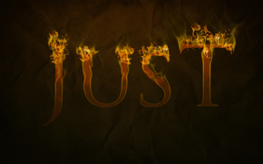 ткань, пламя, буквы, полотно, текст, просто, огонь