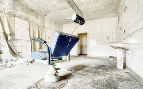 interior, hospital, gabinete