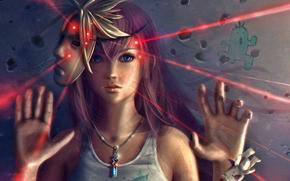 Final_fantasy, fangirl, mask, laser, fashion