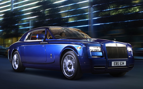 luxury, Other brands, blue, Rolls-Royce, car
