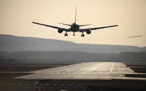 airport, plane, koltsovo