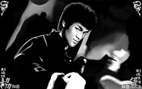 память, кунг-фу, боевые искусства, легенда, мастер, Брюс Ли, мужчина
