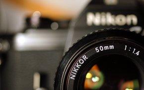 полноэкранные, обои, объектив, фотоаппарат, фон, Hi-Tech, бренд, широкоэкранные, широкоформатные