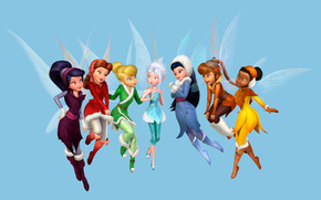 Tinkerbell, The mystery of the winter forest, disney, Tinkerbell, Fairy