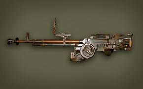 weapon, Easel heavy machine gun, ANC
