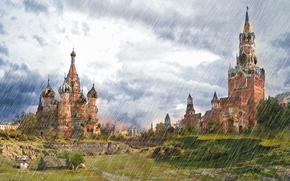 NUVENS, Pós-apocalipse, Moscou, chuveiro