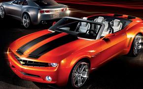 cabriolet, Supercar, Art, Chevrolet