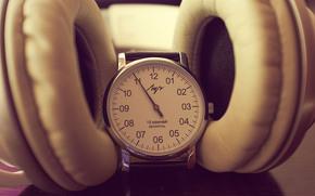 винтаж, Часы, часы луч, винтажные часы, Hi-Tech, советское, советские часы, ретро часы, черно-белое