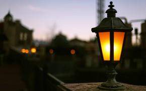 фон, обои, боке, размытие, полноэкранные, широкоформатные, улица, лампа, разное, свет, широкоэкранные
