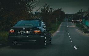 Sedan, Black, BMW