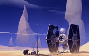 космический корабль, солдат, звездные войны