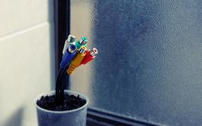 провода, Hi-Tech, горшок