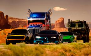 Transformers: The era of destruction, fantasy