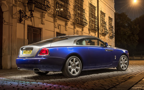 building, Lattice, night, back view, lantern, Race, Other brands, Rolls-Royce