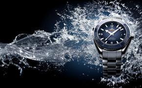 watch, water, hi-tech