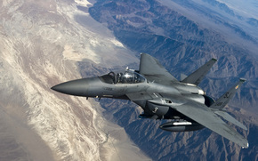 """""""Eagle"""", tactical, fighter, Mountains, flight"""
