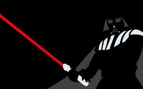 minimalism, Darth Vader
