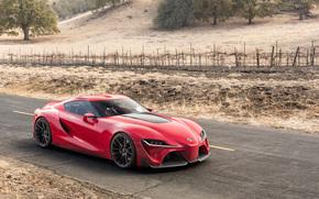 Konzept, Auto, Toyota, red, Babe, Toyota