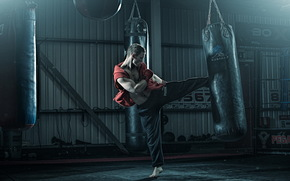 training, hall, Sport