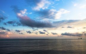 Novorossiysk, sea, Wide beam, Black Sea, sea landscape