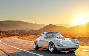 Porsche, stradale, Porsche, sole, macchina