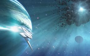 cintura, meteoriti, Orbit, pianeta, spazio