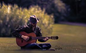 guitar, guitarist, Music