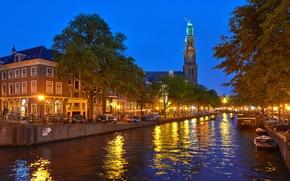 Amsterdam, голандия, город