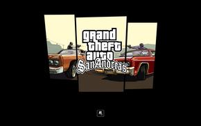 стрельба, логотип, машины, банда Баллас