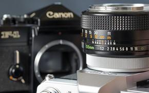 фотоаппарат, фон, широкоформатные, Hi-Tech, объектив, обои, широкоэкранные, полноэкранные