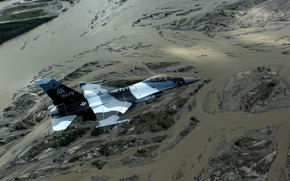 "fighter, ""Fighting Falcon"", landscape, multi-purpose, flight"