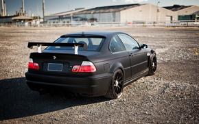 tuning, BMW, BMW, black