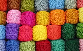 emaranhados, Cor, cor, fio, thanes, coletado, diversidade, versicolor, fundo, t?picos, TEXTURA