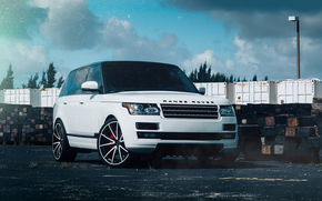 Land Rover, tuning, jeep, SUV