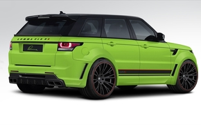 Ranged Rover Sport, back view, Land Rover, Land Rover, tuning