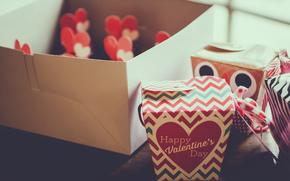 коробка, день влюбленных, день святого Валентина, сердечко, праздник, сердце, подарки